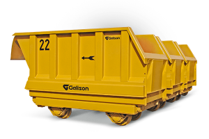 Bottom Discharge Rockflow Wagons